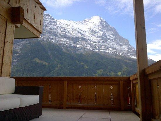 Romantik Hotel Schweizerhof: Eiger view