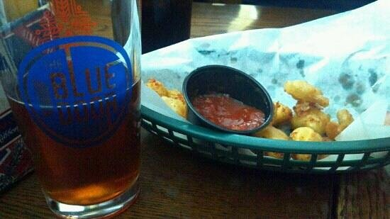 The Blue Door Pub:                   Best cheese curds!