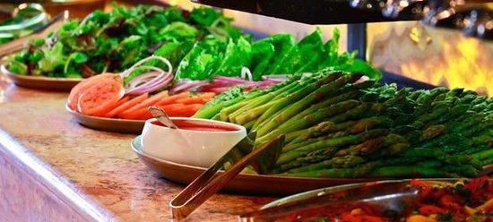 Texas de Brazil: Steamed asparagus