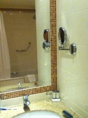 The Regency Hotel Dublin:                   bathroom