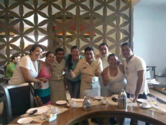 Sandos Cancun Luxury Resort:                   gracias chicos de sandos!!!!!