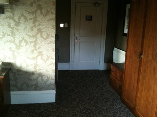BEST WESTERN Moorings Hotel:                                     Bedroom door