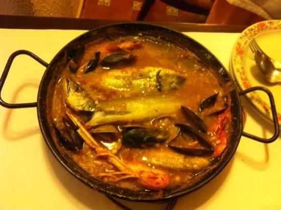 Can Vicent:                   zarzuela de pescado