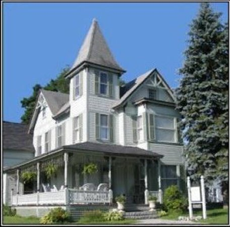 Henniker House: grand old Victorian on a Main St corner