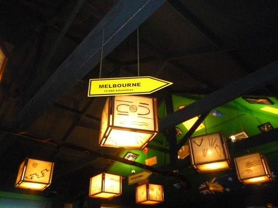 Didge Steakhouse Pub:                   Típico australiano