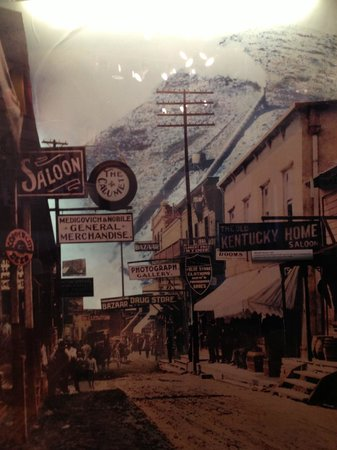 Bisbee Mining & Historical Museum :                                     A photo of early Bisbee