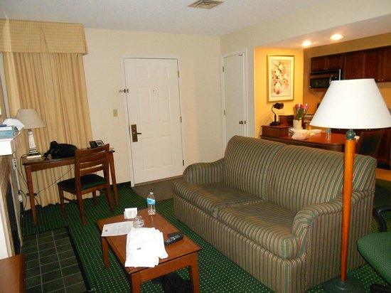 Sonesta ES Suites Wilmington - Newark:                   Second part of the living room