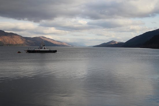 Inn at Ardgour:                                     The wonderful view from our room...spectacular