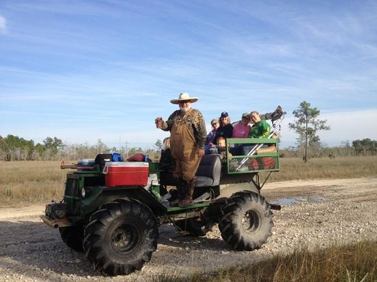 Captain Steve's Swamp Buggy Adventures:                                                       Steve