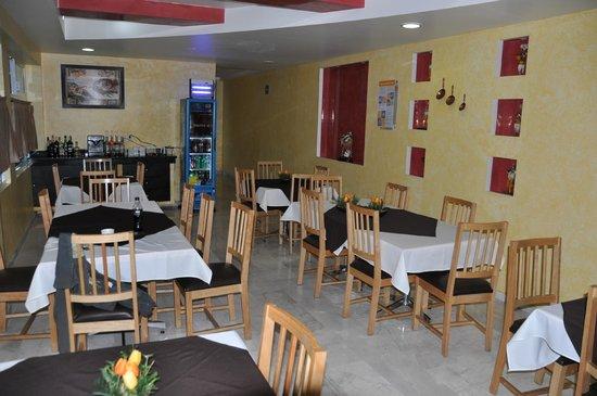 Hotel Irekua:                   Breakfast area and restaurant