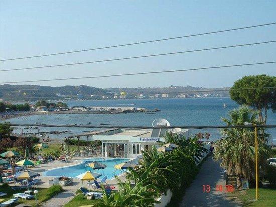 Elpida Beach Studios :                                     view from room