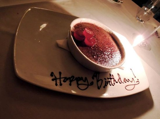 Barking Frog:                                     Birthday Dessert