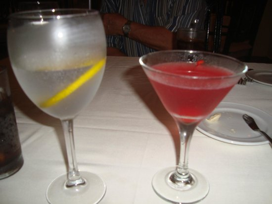 Casa Velas:                   Speciatly drink of night, Hibiscus martini
