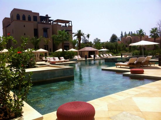 Four Seasons Resort Marrakech:                   Piscine familiale