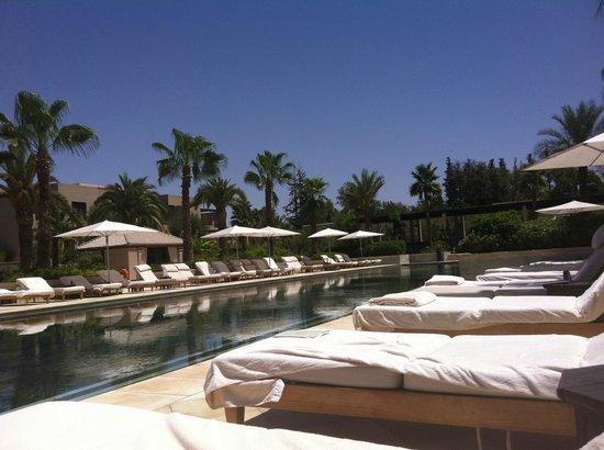 Four Seasons Resort Marrakech:                   Piscine