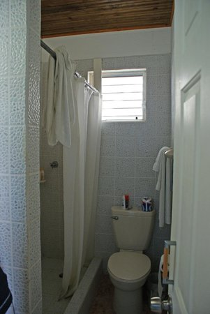 Costa Maya Beach Cabanas:                   clean bathrooms