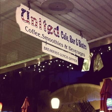United Cafe Bar and Bistro:                   United Cafe, Bar & Bistro