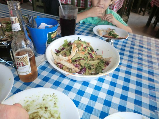 Chstr:                   The Thai Chicken Salad...The best I've ever had!