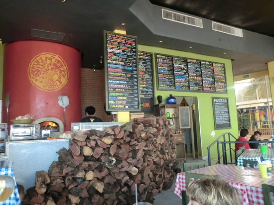 Chstr:                   The menus on the wall, so many yummy choices