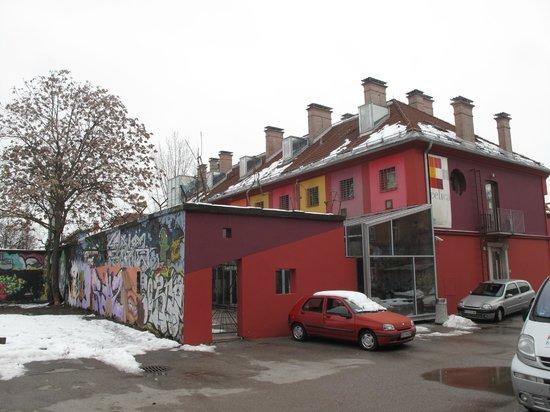 Hostel Celica:                   Hostel exterior