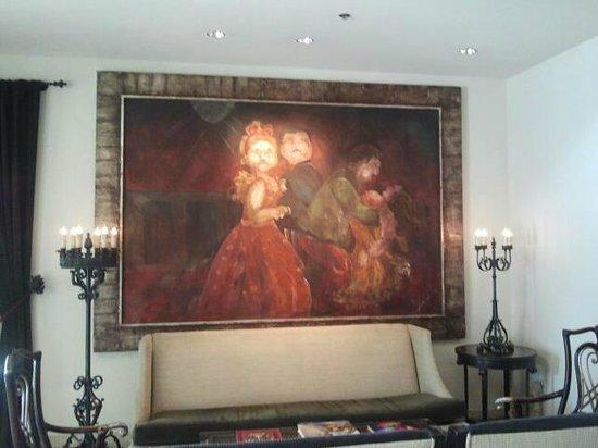 Hotel ZaZa Dallas:                   Lobby
