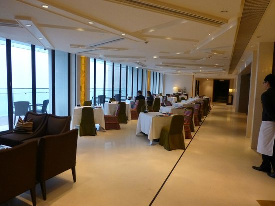 The T Hotel:                   6th floor lounge for breakfast, lunch & dinner
