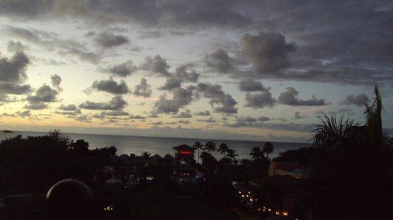 Sandals Grande Antigua Resort & Spa:                   Room view at night, fantastic!