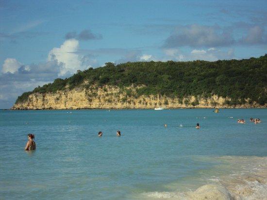 Sandals Grande Antigua Resort & Spa:                   Beach view