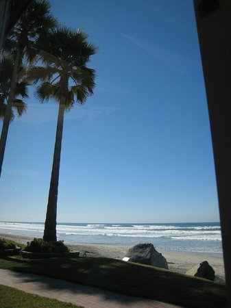 Jake's Del Mar:                   View from our table