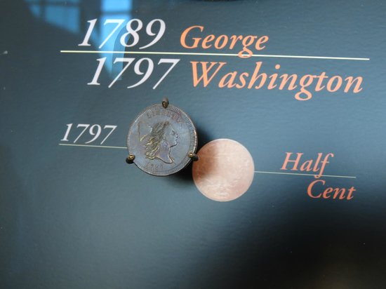 The Money Museum:                   One of first American coins