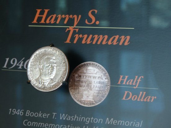 The Money Museum:                   Harry Truman commemorative coin