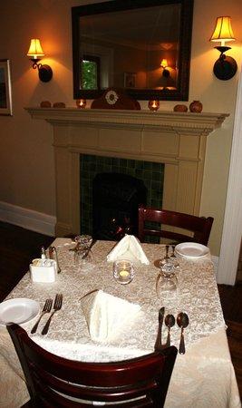 Sophia's Fine Dining: Fireside Dining