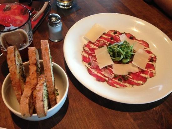 Cactus Club Cafe:                   Beef Carpaccio