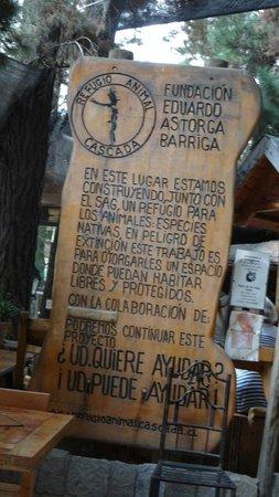 Cascada de las Animas:                   Refugio Animal