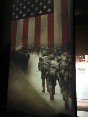 National Infantry Museum and Soldier Center:                   Exhibit