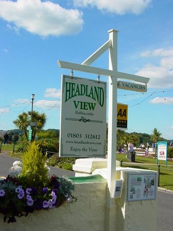 Headland View : Located directly on Babbacombe Downs