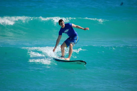 Macao Surf Camp:                                                       Surfing!