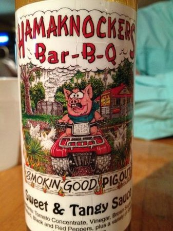 Hamaknockers BBQ:                   great sauce