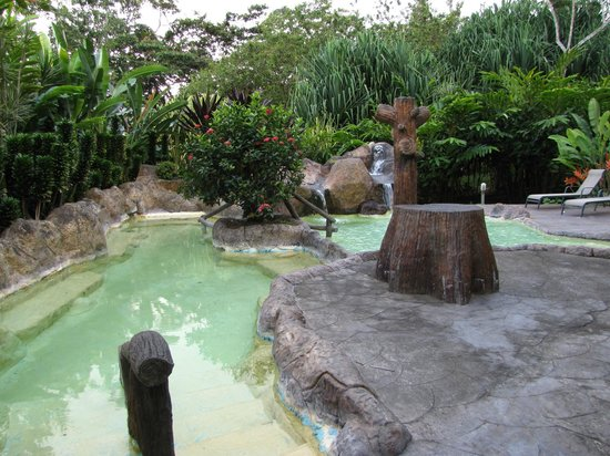 Los Lagos Hotel Spa & Resort:                   One of the hot springs