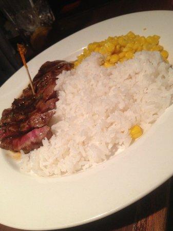Texas Roadhouse Grill :                   Flat Iron Steak