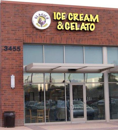 Glacier Homemade Ice Cream & Gelato:                                     Store Front