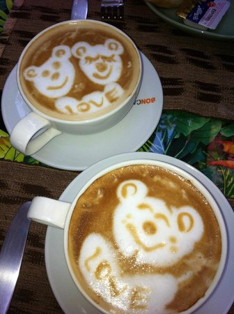 Shewe Wana Boutique Resort and Spa:                   Barista's Masterpieces