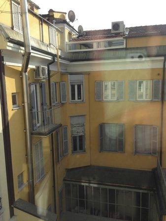 Hotel Manzoni:                                                       view