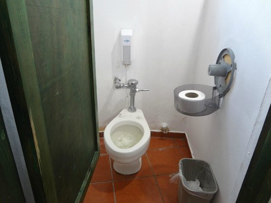 Be Live Experience Hamaca Garden:                   one of the public bathrooms