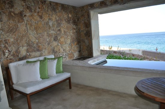 The Resort at Pedregal:                   our pool in the room