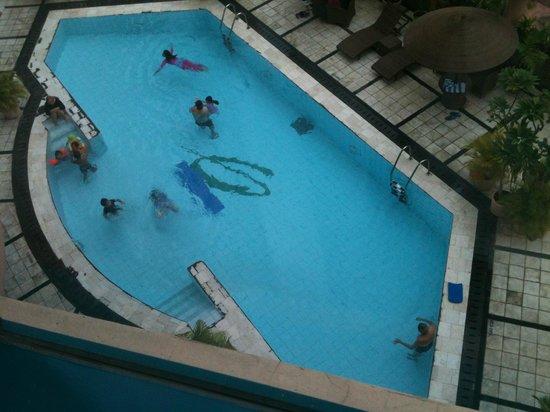 Hotel Ciputra Semarang:                   View from room