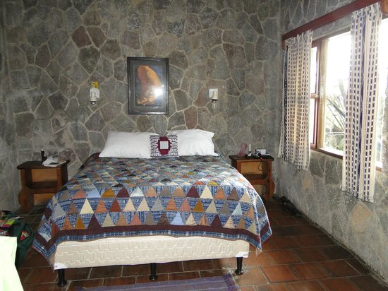 Posada de Santiago:                   Bungalow interior