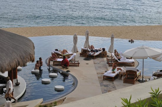 The Resort at Pedregal:                   Poolside bar and grill
