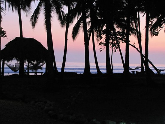 Clandestino Beach Resort:                   Sunset view from the pool looking at the beach                 