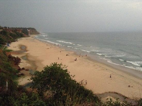 Hill-Top Ayurvedic Beach Resort :                   Varkala Beach